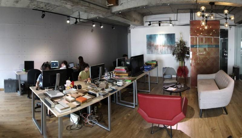 Hình ảnh văn phòng công ty thiết kế Nội Thất Chung Cư ở TPHCM