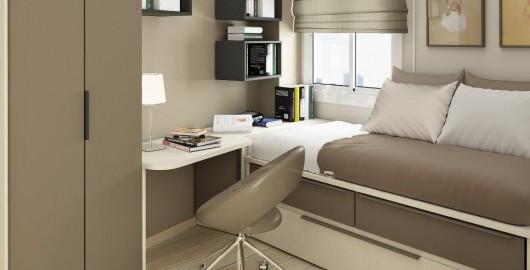 Cải tạo căn hộ chung cư 56m2 đẹp, hiện đại
