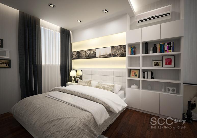 Thiết kế nội thất căn hộ Lam Apartment - Belleza, Q7