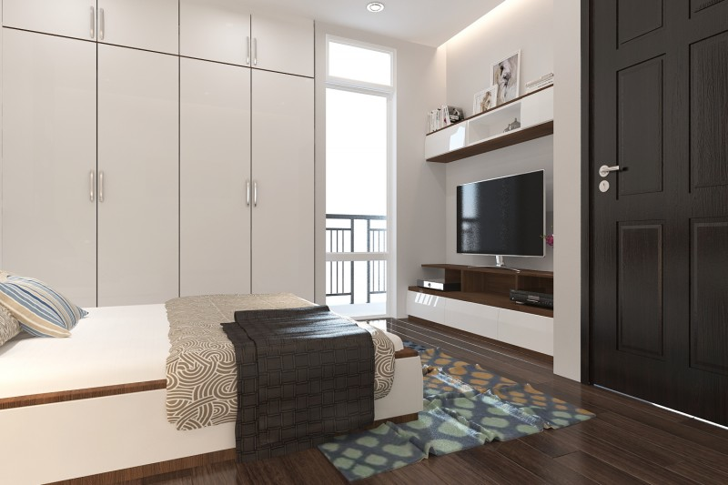 Thiết kế nội thất chung cư Petroland