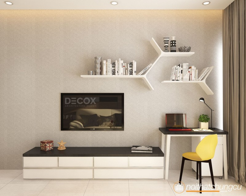 Thiết kế nội thất chung cư Celadon City 70m2