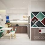 Thiết kế nội thất chung cư Useful Apartment – 68m2, Mr Tuấn