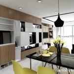 Thiết kế nội thất chung cư Babylon 78m2 – Chị Nguyên