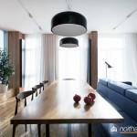 Thiết kế nội thất chung cư 85m2 hiện đại, tiện nghi
