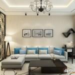 Thiết kế nội thất chung cư Tân Phước Plaza 74m2