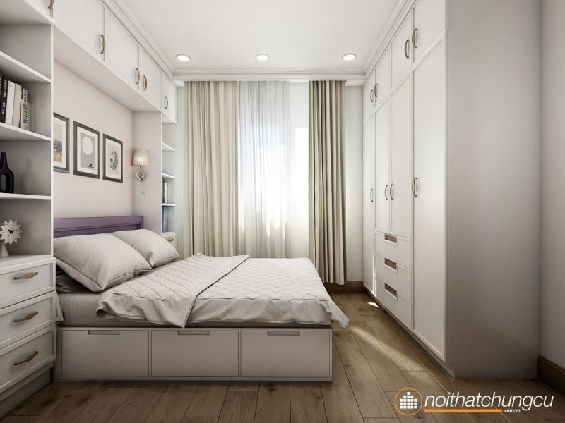Thiết kế nội thất chung cư 70m2 Celadon City đẹp