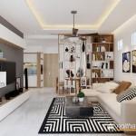 Thiết kế nội thất chung cư Dream Home 69m2 – Anh Toàn