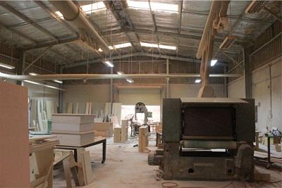 Hình ảnh xưởng gỗ cơ sở 2
