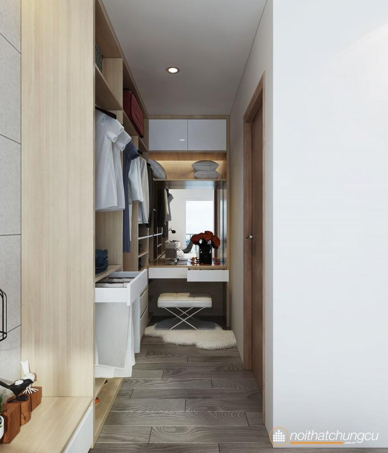 Mẫu thiết kế nội thất chung cư Masteri đơn giản, hiện đại