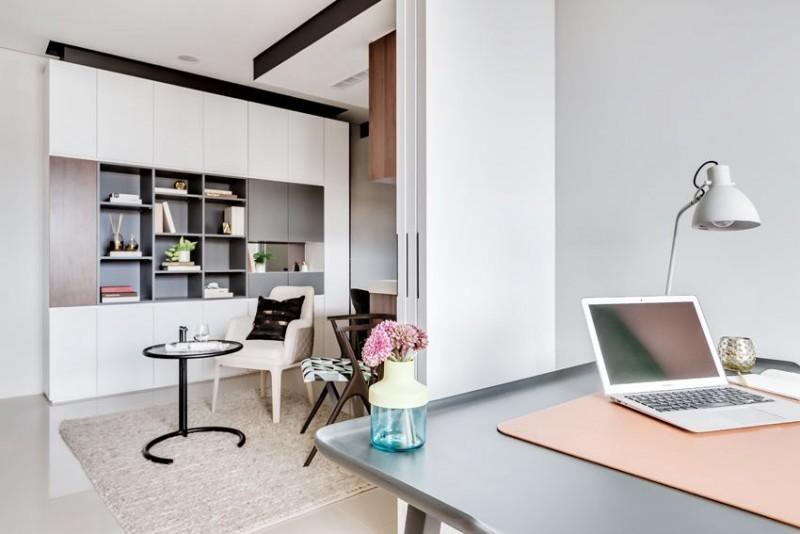 Thiết kế nội thất chung cư 59m2 đẹp, hiện đại