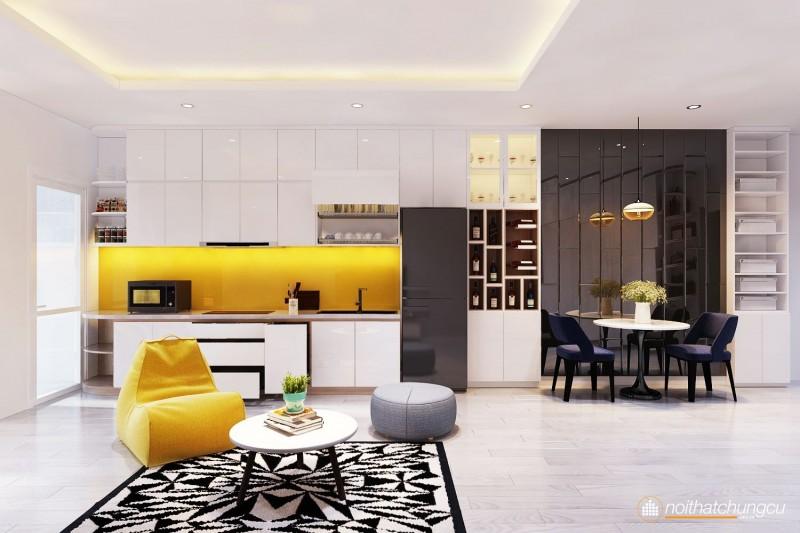 Thiết kế nội thất chung cư 47m2
