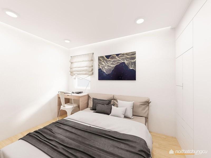 Thiết kế nội thất chung cư Carina 100m2