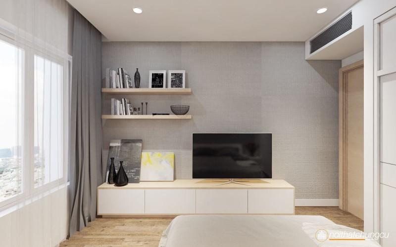 Thiết kế nội thất chung cư Sarimi Sala 83m2