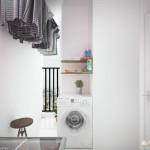 15 mẫu ban công kết hợp với phòng giặt sáng tạo
