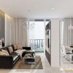 Mẫu thiết kế nội thất chung cư 88m2 sang trọng