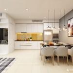 Thiết kế nội thất chung cư Sarimi Sala 86m2