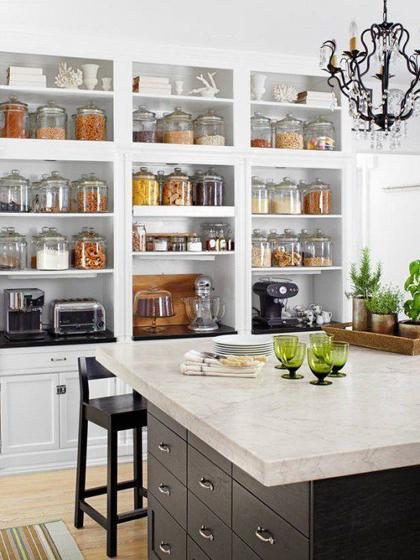 Thiết kế nội thất bếp gọn gàng