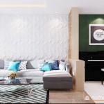 Thiết kế nội thất chung cư Bộ Công An 67m2