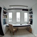 Thi công nội thất căn hộ chung cư Vạn Đô 90m2 – chị Dung