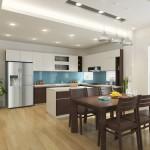 Thiết kế nhà bếp hiện đại