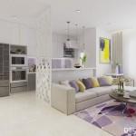 Thiết kế nội thất chung cư Sunrise City 80m2