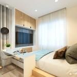 Thiết kế nội thất chung cư HQC 51m2 – anh Vũ