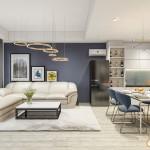 Thiết kế nội thất chung cư Airport Plaza – 92m2 – Chị Trinh