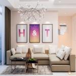 Thiết kế nội thất chung cư Parcspring – chị Thảo