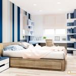 Thiết kế nội thất chung cư Belleza – anh Việt