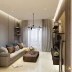 Thiết kế nội thất chung cư Tropic Garden 65m2 – anh Thiện