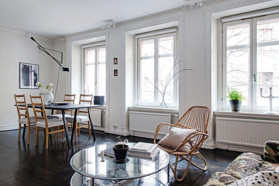 Thiết kế căn hộ 56m2 mang phong cách Bắc Âu