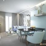 Thiết kế nội thất chung cư Bộ Công An 68m2 – chị Quyên