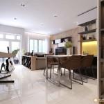 Thiết kế nội thất chung cư Masteri Thảo Điền 69m2 – anh Hiền