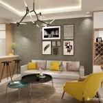 Thiết kế nội thất chung cư Petroland 89m2 – Anh Dũng