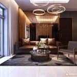 Thiết kế nội thất chung cư Vinhomes Central Park – 107m2 – Anh Sơn