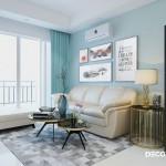 Thiết kế nội thất chung cư An Gia Garden 63m2 – Chị Huỳnh