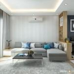 Thiết kế nội thất chung cư Bộ Công An68m2 – Anh Dư