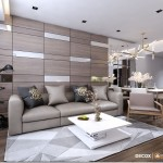 Thiết kế nội thất chung cư 65m2 SoHo Riverview – Anh Hùng