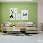 Thiết kế nội thất chung cư 68m2 Bộ Công An – Anh Hòa