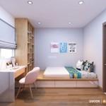 Thiết kế nội thất chung cư 68m2 The Art – Chị An