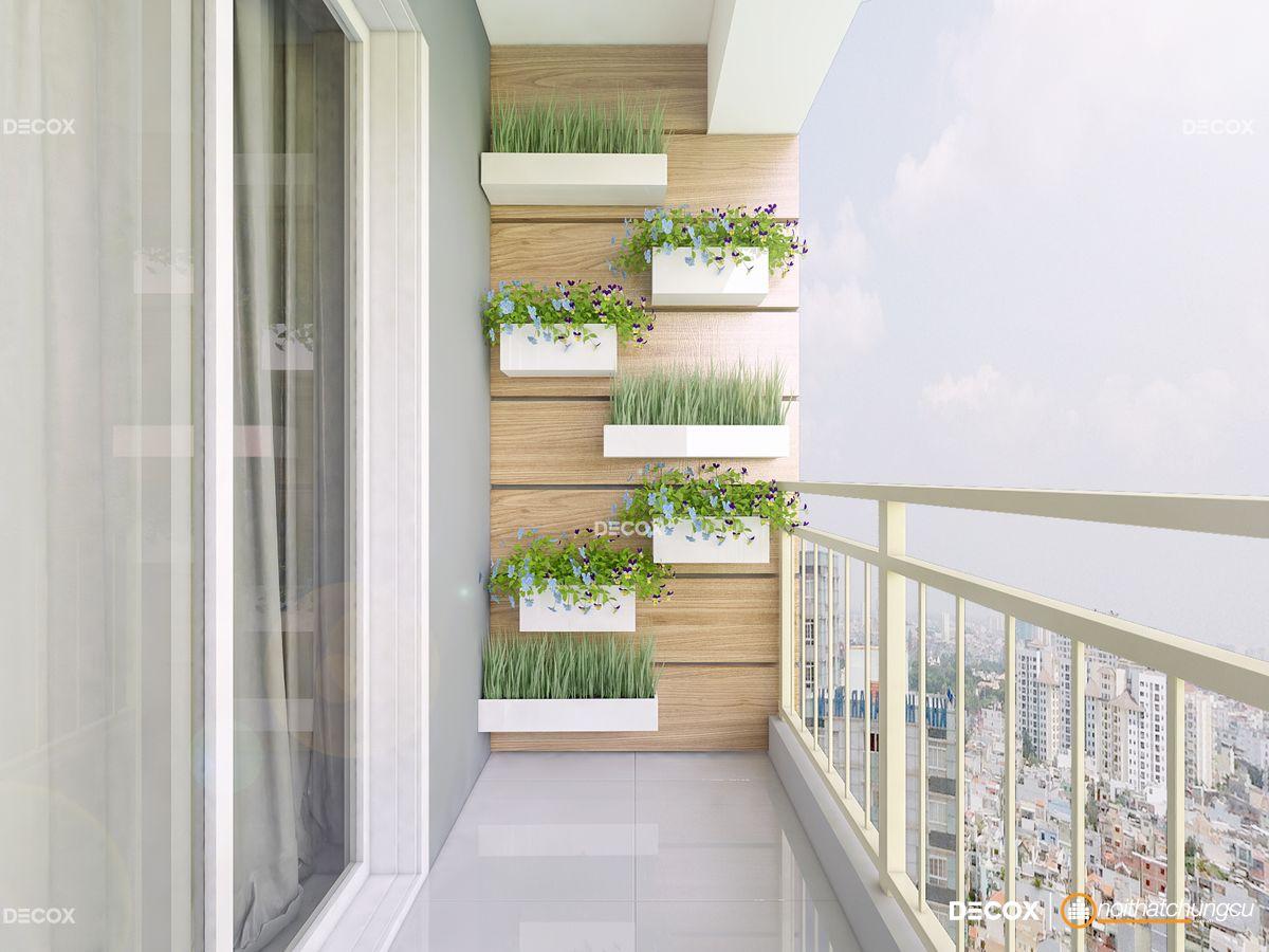 Thiết kế nội thất chung cư 70m2 Sơn Kỳ 1