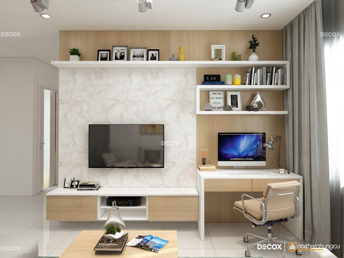 Thiết kế nội thất chung cư Orchard Garden 72m2