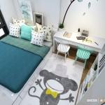 Thiết kế nội thất chung cư 72m2 Masteri Thảo Điền – Anh Trung