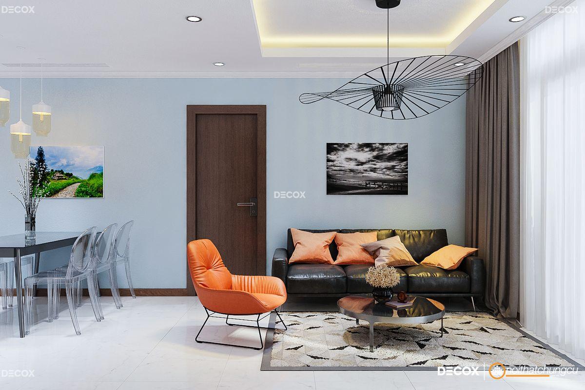 Thiết kế nội thất chung cư 77m2 Vinhomes Central Park