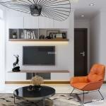Thiết kế nội thất chung cư 77m2 Vinhomes Central Park –  Anh Quang