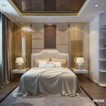 Thiết kế nội thất chung cư 78m2 Him Lam Chợ Lớn – Chị Phương