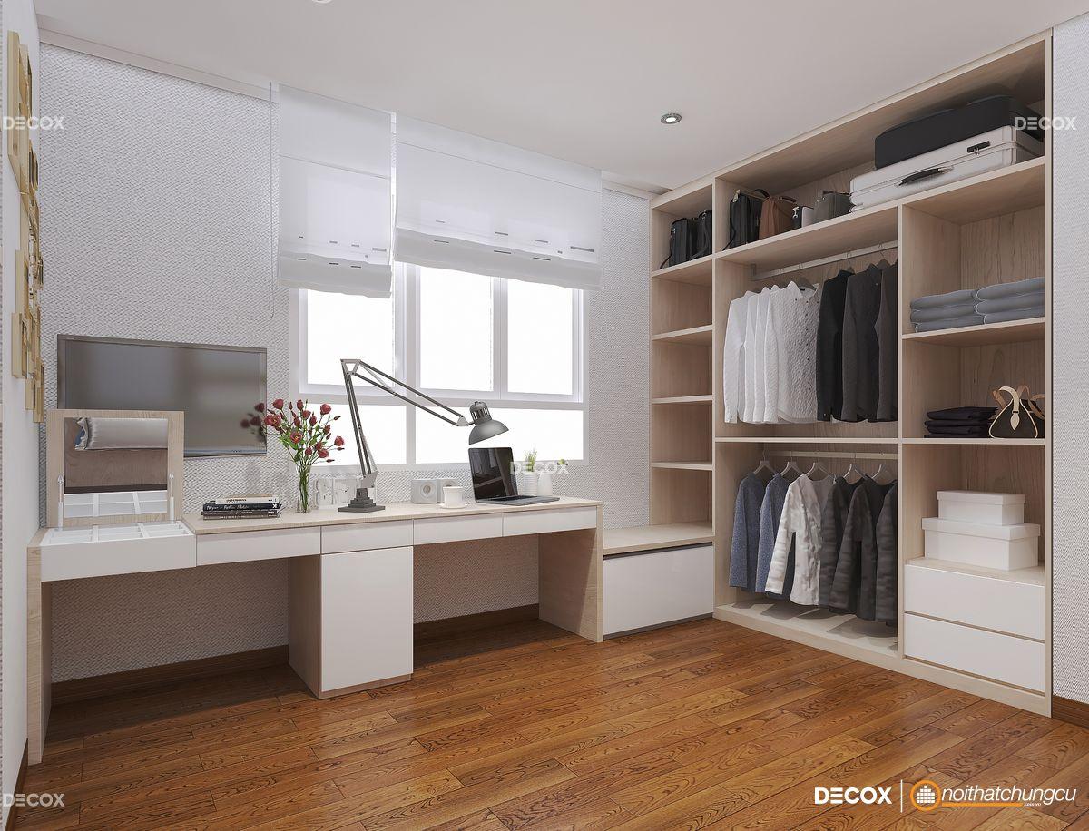 Thiết kế nội thất chung cư 87m2 Him Lam Chợ Lớn