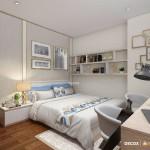 Thiết kế nội thất chung cư 87m2 Him Lam Chợ Lớn – Anh Cường