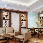 Thiết kế nội thất chung cư 61m2 E Home 3 – Anh Toàn