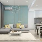 Thiết kế nội thất chung cư Masteri 65m2 – Chị Nghĩa